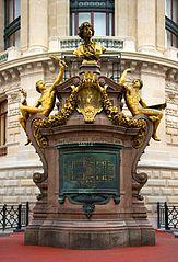 monument to Charles Garnier