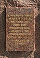 Monument to the three emperors, Zbýšov, VY - plaque 2.jpg