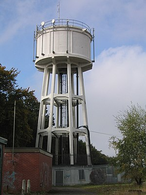 Moortown, Leeds - Moortown Water Tower, north of the Ring Road