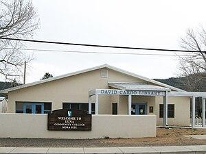 Mora, New Mexico - David F. Cargo Library in Mora