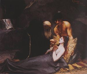 "Atala (novella) - ""The Death of Atala"" by Rodolfo Amoedo (1883)"