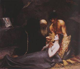 """Atala (novella) - """"The Death of Atala"""" by Rodolfo Amoedo (1883)"""