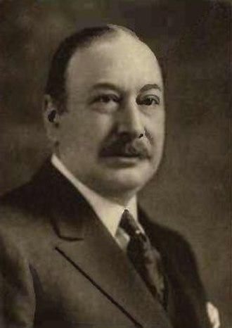 Mortimer Davis - Davis in 1920