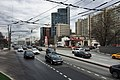 Moscow, approach to Oktyabrsky Tunnel and Korovy Val Street (31011623922).jpg