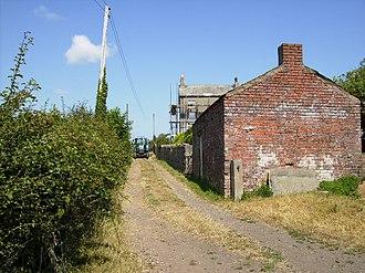 Leece - Image: Moss House geograph.org.uk 210578