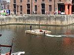 Motorised raft, Albert Dock, Liverpool - 2013-06-07 (38).JPG