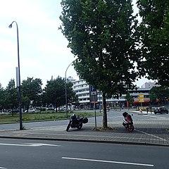 Motorradparkplatz Essen Limbecker Platz