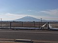 Mount Iwaki from the Tsugaru Expressway.jpg
