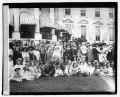 Mrs. Harding & children of D.A.R., 4-16-21 LOC npcc.03945.tif