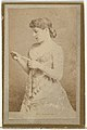 Mrs. Langtry, from the Actresses and Celebrities series (N60, Type 2) promoting Little Beauties Cigarettes for Allen & Ginter brand tobacco products MET DP839478.jpg