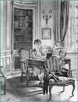 Otto Hermann Kahn - Mrs Otto H Kahn, 1928