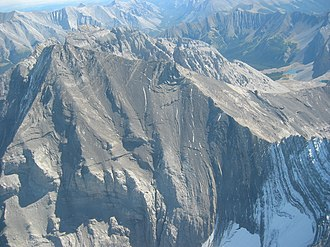 High Rock Range - Image: Mt Rae Alberta Canada aerial 1