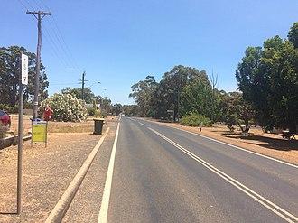 Muirs Highway - Muirs Highway at Rocky Gully
