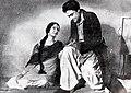 Mumtaz Shanti et Ashok Kumar dans Kismet (1943).jpg