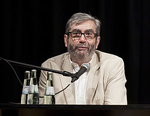 English: Spanish writer Antonio Muñoz Molina a...