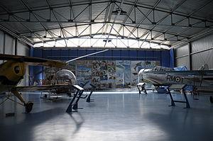 Museo dell'Aeronautica Gianni Caproni, hangar nord, 2011.JPG