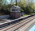 Museum in a former signalbox at Llandrindod Wells railway station - geograph.org.uk - 3565841.jpg
