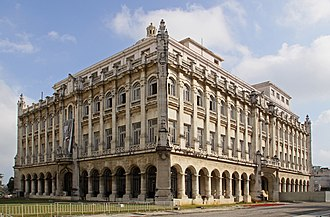 Museum of the Revolution (Cuba) - Presidential Palace by the architects Rodolfo Maruri and the Belgian architect Paul Belau.