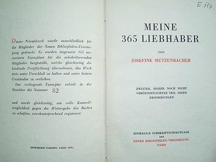 Josefine Mutzenbacher Entscheidung Bverfg