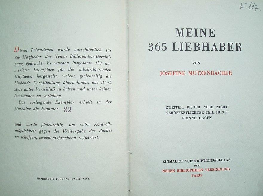 Josefine mutzenbacher bundesverfassungsgericht