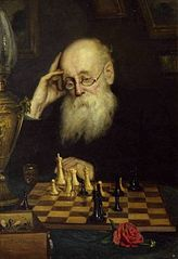 Portrait of the chess player A. D. Petrov