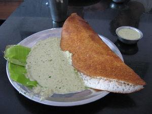 Masala dosa - Image: Mysore Masala Dosa