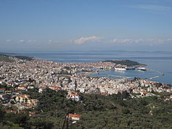 View of Mytilene