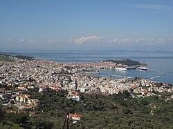 Aprile 2010 vista di Mitilene