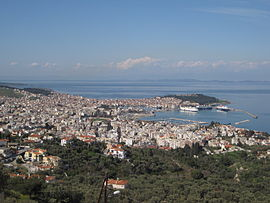April 2010 view of Mytilene.