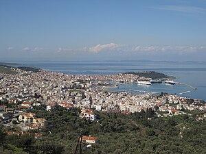 Lesbos - View of Mytilene
