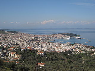 Mytilene Place in Greece