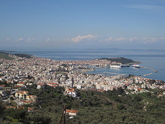 Mytilene - View of Mytilene.