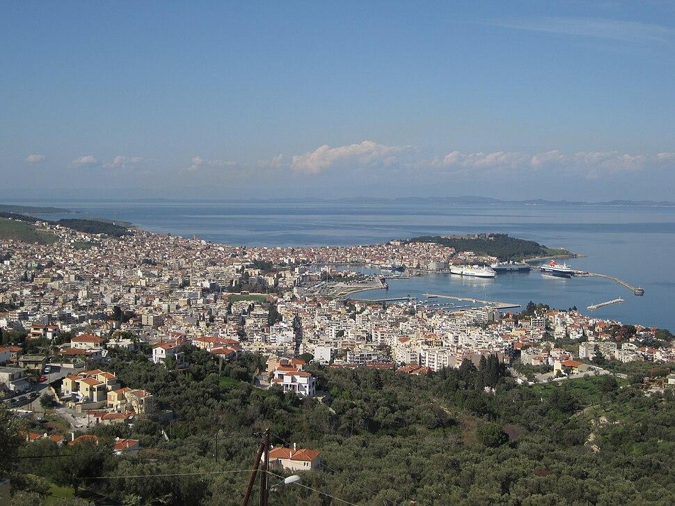View of Mytilene