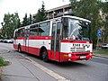 Nádraží Uhříněves, Karosa B 932 ČSAD Polkost na lince 232 (01).jpg