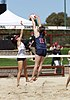 NCAA beach volleyball match at Stanford in 2017 (33048593980).jpg