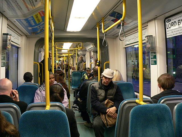 Nottingham NET Incentro tram interior by Chris McKenna (Thryduulf)