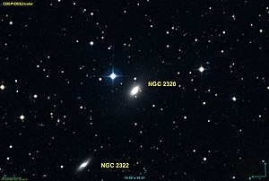 NGC 2320 with NGC 2322 [1]