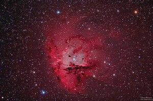 NGC 281 - Image: NGC 281 The Pacman Nebula