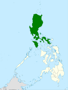 Distribution of the Naja philippinensis