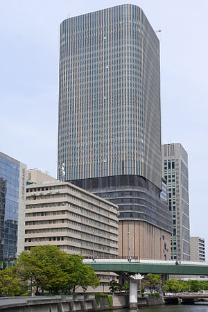 Asahi Shimbun - Nakanoshima Festival Tower East Asahi Shimbun Osaka Head Office is on the 9th to the 12th floors.
