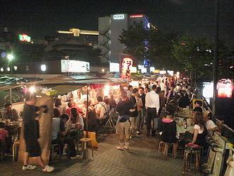 Hakata-ku, Fukuoka - Food Yatai in Nakasu area