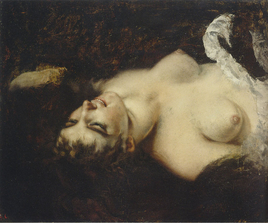 Gustave Courbet - Page 2 921px-Naked_woman-Courbet-180
