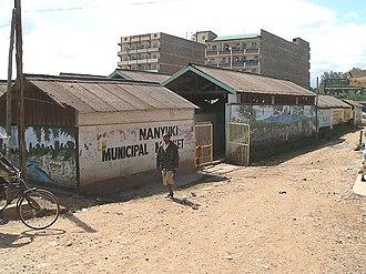 Nanyuki - Image: Nanyuki municipal market