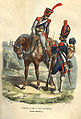 Napoleon Guard Artillery train and Foot artillerist by Bellange.jpg