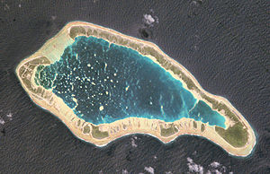 Napuka - NASA picture of Napuka Atoll