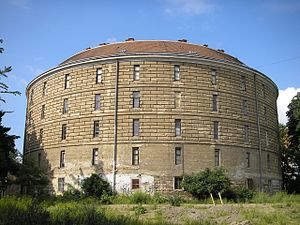 Vienna General Hospital - The Narrenturm, built circa 1782