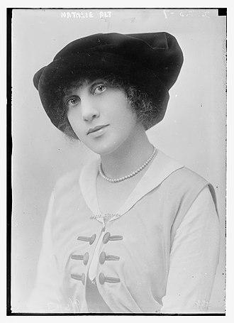 Adele (musical) - Image: Natalie Alt, 1913
