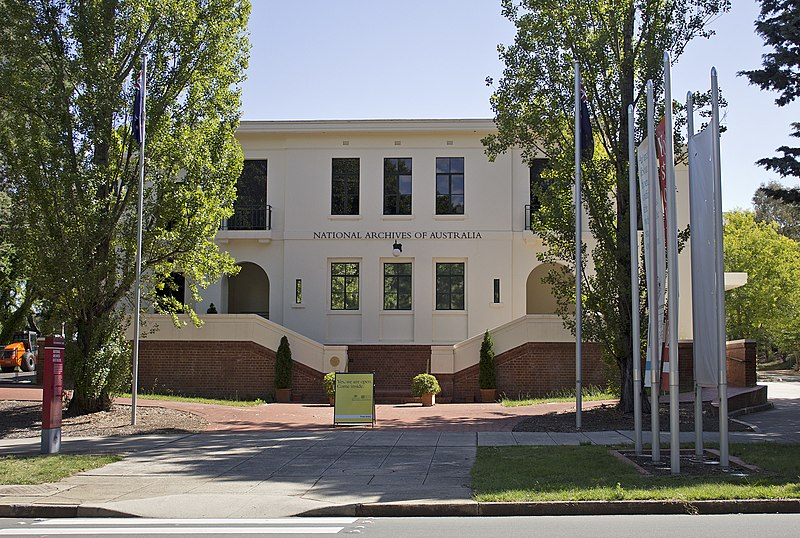 Datei:National Archives of Australia in Parkes, ACT.jpg