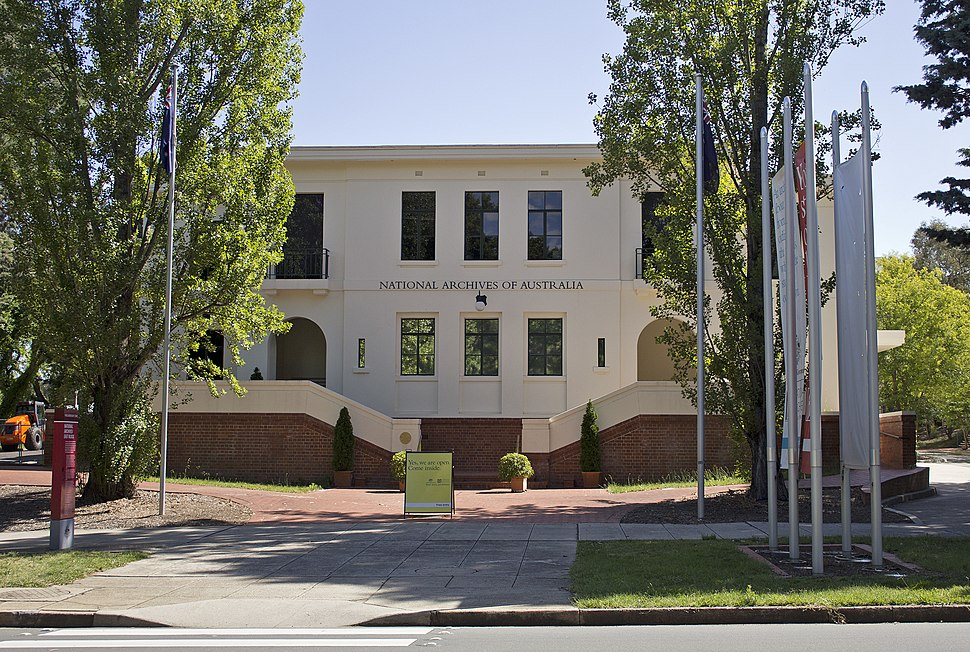 National Archives of Australia in Parkes, ACT