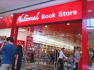 National Book Store - National Book Store in SM City San Pablo before the mall's expansion.